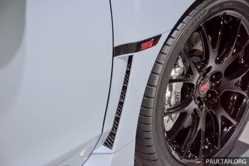 Tokyo 2017: Subaru WRX STI S208  – 329 PS, 432 Nm Image #728435