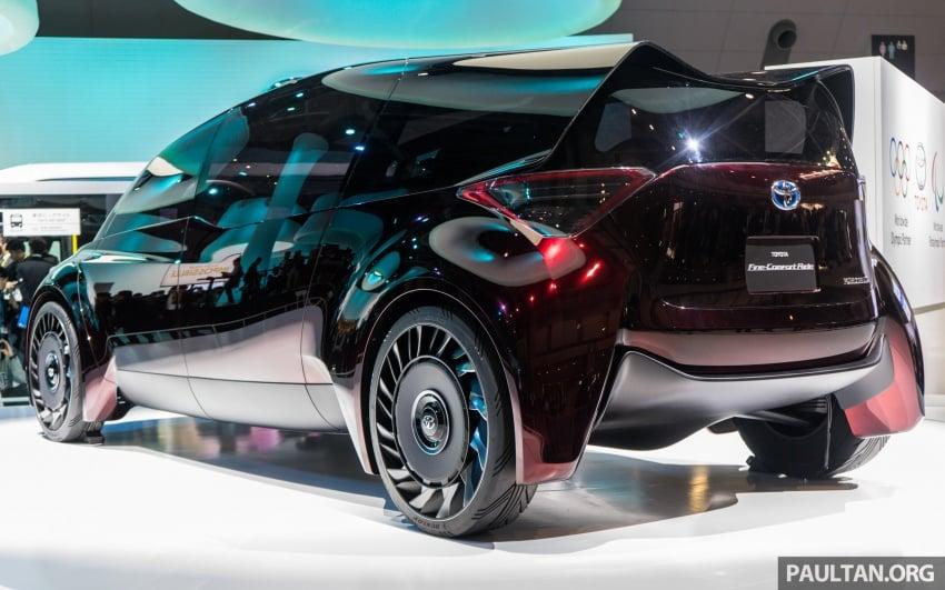 Tokyo 2017: Toyota Fine-Comfort Ride showcases new hydrogen technology – six seats, 1,000 km range Image #731197