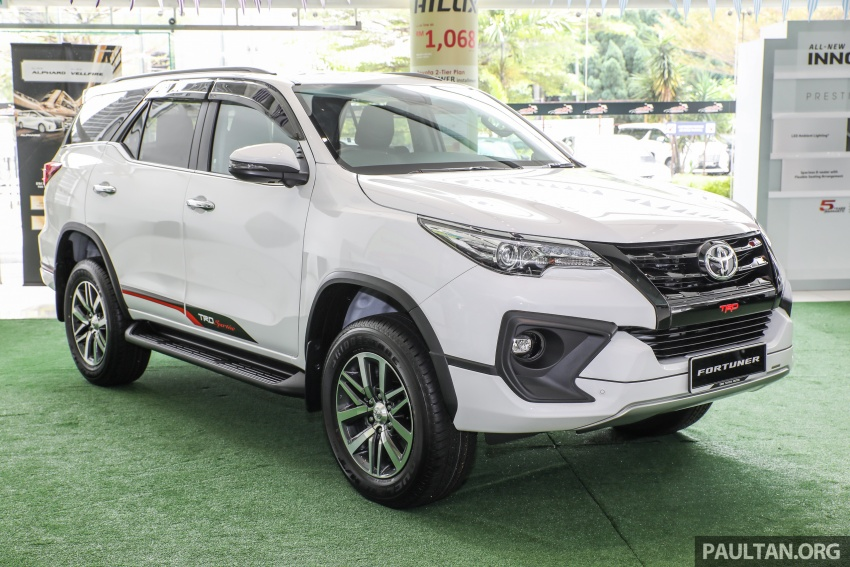 GALLERY: Toyota Fortuner 2.4 VRZ 4×2 with TRD kit Image #723308