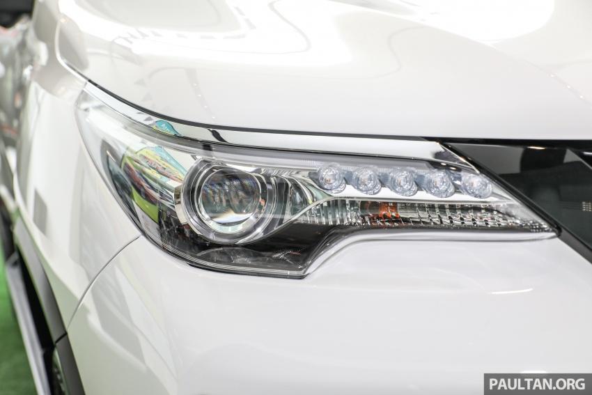 GALERI: Toyota Fortuner 2.4 VRZ A/T 4×2 lengkap dengan aksesori tambahan dan pakej TRD Sportivo Image #723099