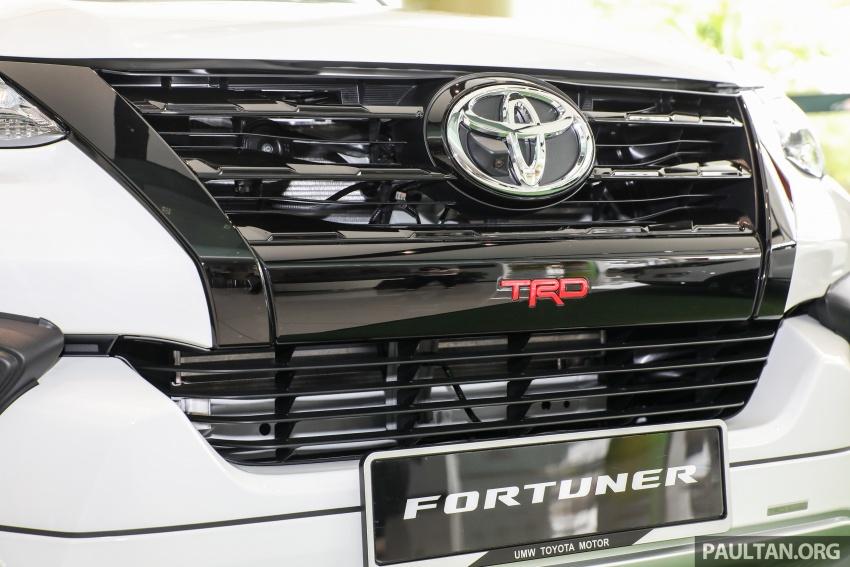 GALERI: Toyota Fortuner 2.4 VRZ A/T 4×2 lengkap dengan aksesori tambahan dan pakej TRD Sportivo Image #723102
