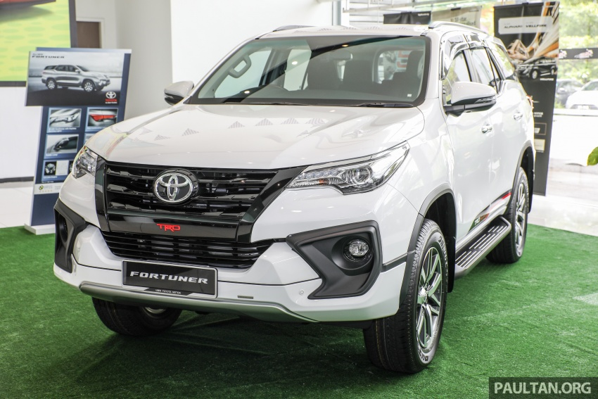 GALERI: Toyota Fortuner 2.4 VRZ A/T 4×2 lengkap dengan aksesori tambahan dan pakej TRD Sportivo Image #723090