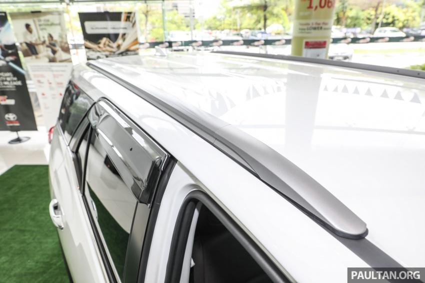 GALERI: Toyota Fortuner 2.4 VRZ A/T 4×2 lengkap dengan aksesori tambahan dan pakej TRD Sportivo Image #723116
