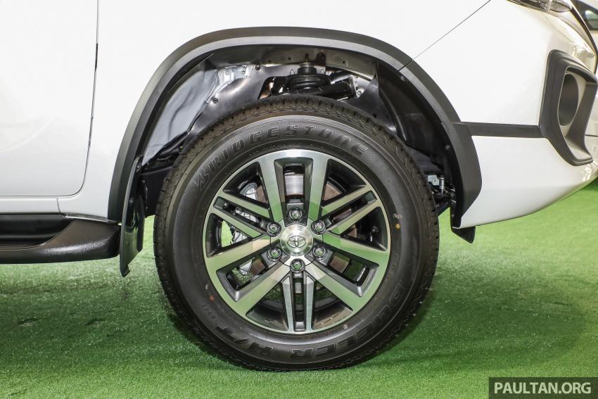 GALERI: Toyota Fortuner 2.4 VRZ A/T 4×2 lengkap dengan aksesori tambahan dan pakej TRD Sportivo Image #723118