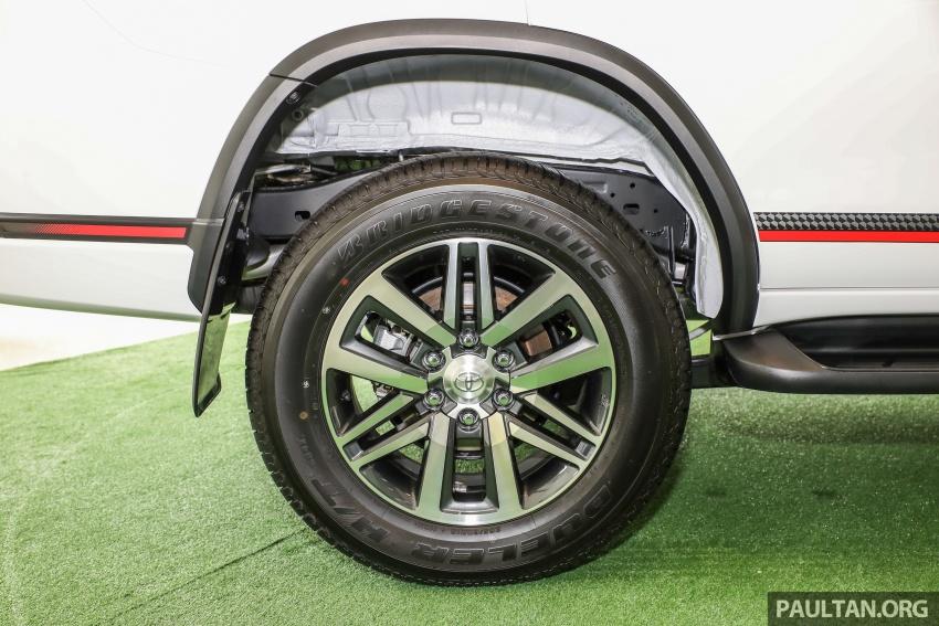 GALERI: Toyota Fortuner 2.4 VRZ A/T 4×2 lengkap dengan aksesori tambahan dan pakej TRD Sportivo Image #723120