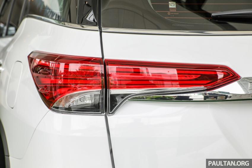 GALERI: Toyota Fortuner 2.4 VRZ A/T 4×2 lengkap dengan aksesori tambahan dan pakej TRD Sportivo Image #723122