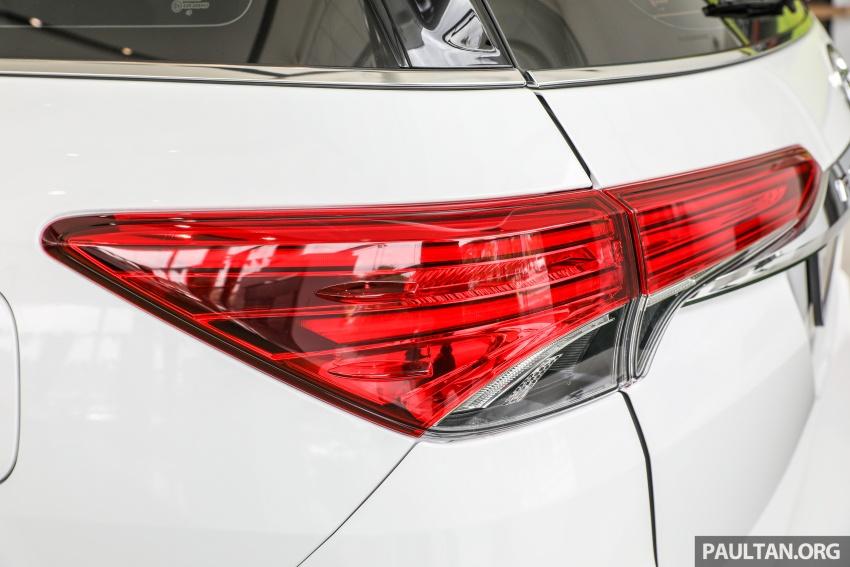 GALERI: Toyota Fortuner 2.4 VRZ A/T 4×2 lengkap dengan aksesori tambahan dan pakej TRD Sportivo Image #723123