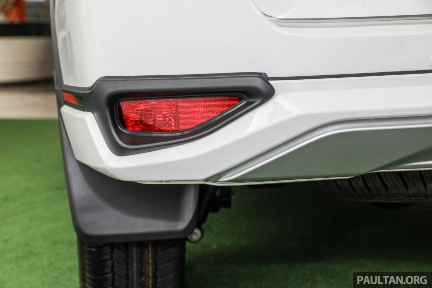 GALERI: Toyota Fortuner 2.4 VRZ A/T 4×2 lengkap dengan aksesori tambahan dan pakej TRD Sportivo Image #723125