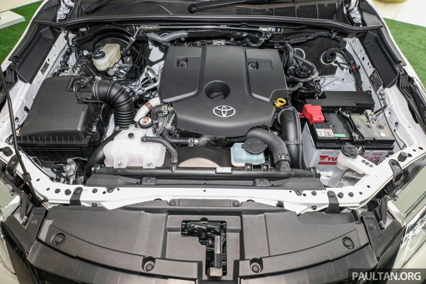 GALERI: Toyota Fortuner 2.4 VRZ A/T 4×2 lengkap dengan aksesori tambahan dan pakej TRD Sportivo Image #723131