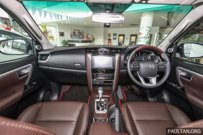 GALERI: Toyota Fortuner 2.4 VRZ A/T 4×2 lengkap dengan aksesori tambahan dan pakej TRD Sportivo Image #723134