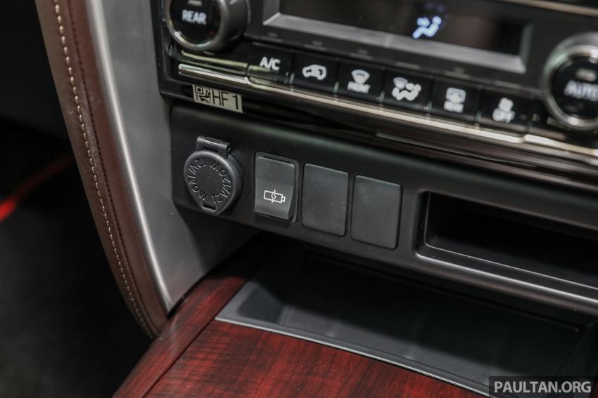 GALERI: Toyota Fortuner 2.4 VRZ A/T 4×2 lengkap dengan aksesori tambahan dan pakej TRD Sportivo Image #723152
