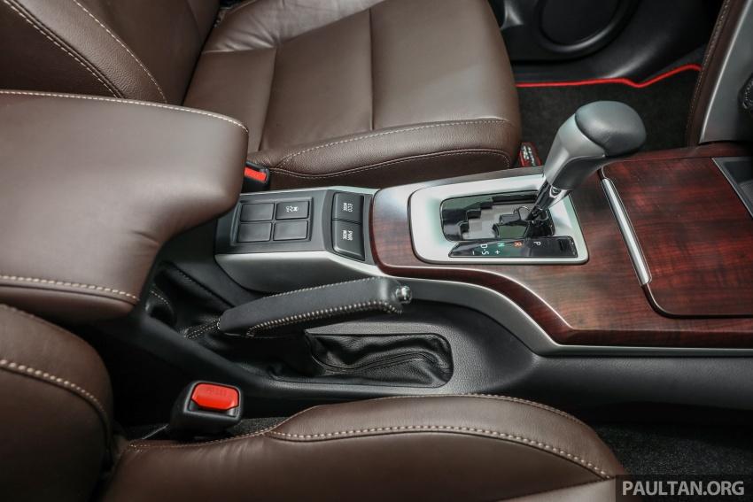 GALERI: Toyota Fortuner 2.4 VRZ A/T 4×2 lengkap dengan aksesori tambahan dan pakej TRD Sportivo Image #723159