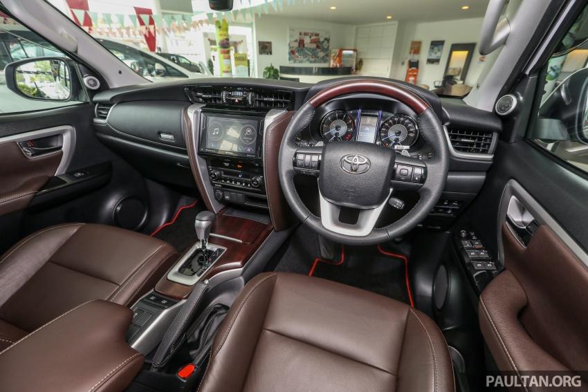 GALERI: Toyota Fortuner 2.4 VRZ A/T 4×2 lengkap dengan aksesori tambahan dan pakej TRD Sportivo Image #723176