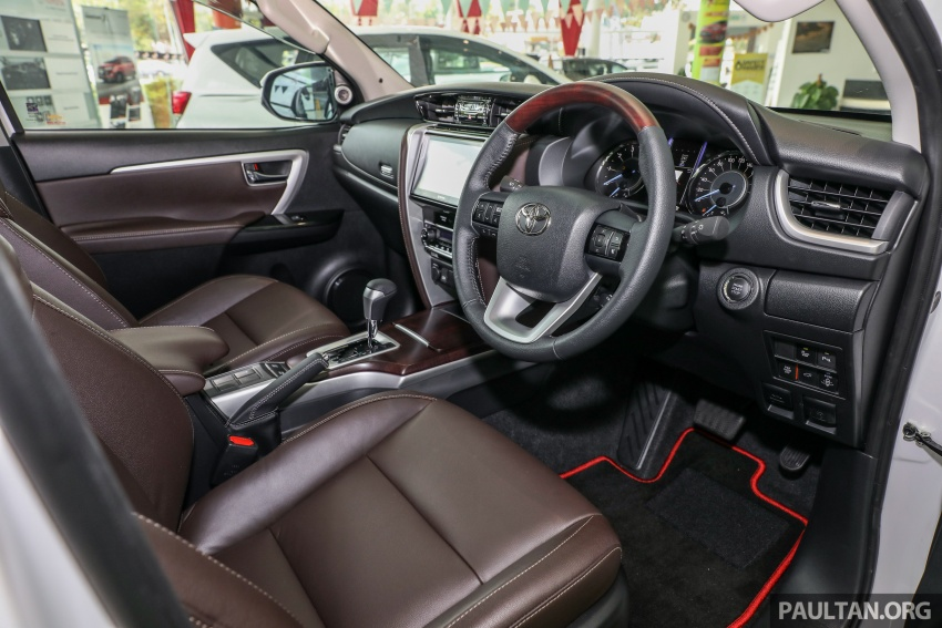 GALERI: Toyota Fortuner 2.4 VRZ A/T 4×2 lengkap dengan aksesori tambahan dan pakej TRD Sportivo Image #723136