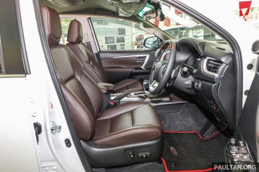 GALERI: Toyota Fortuner 2.4 VRZ A/T 4×2 lengkap dengan aksesori tambahan dan pakej TRD Sportivo Image #723182