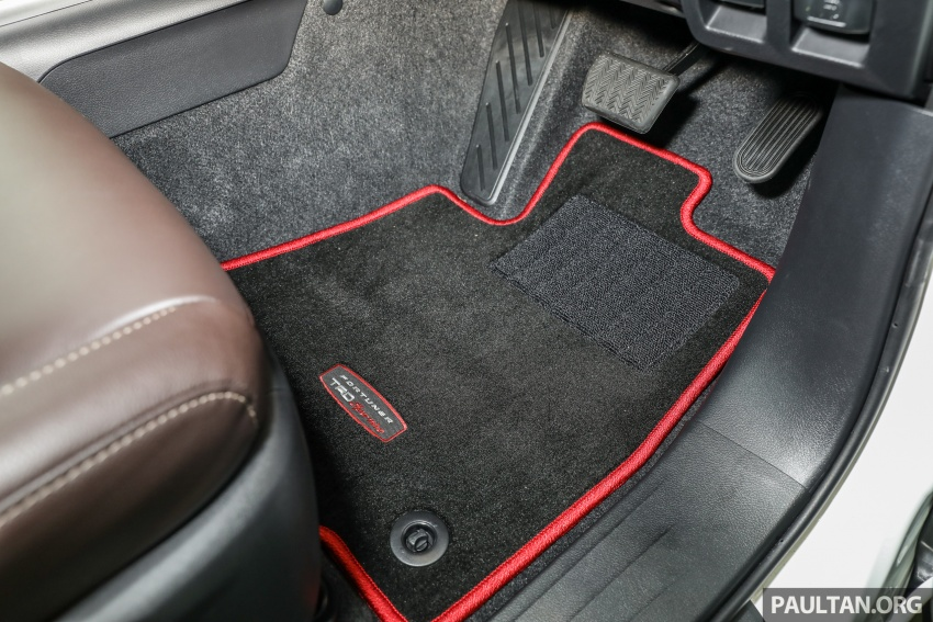 GALERI: Toyota Fortuner 2.4 VRZ A/T 4×2 lengkap dengan aksesori tambahan dan pakej TRD Sportivo Image #723189