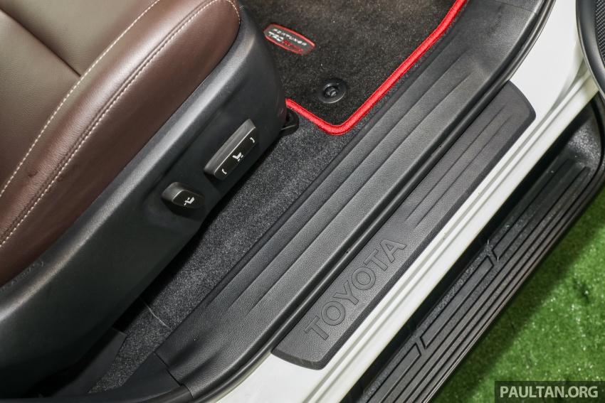 GALERI: Toyota Fortuner 2.4 VRZ A/T 4×2 lengkap dengan aksesori tambahan dan pakej TRD Sportivo Image #723192