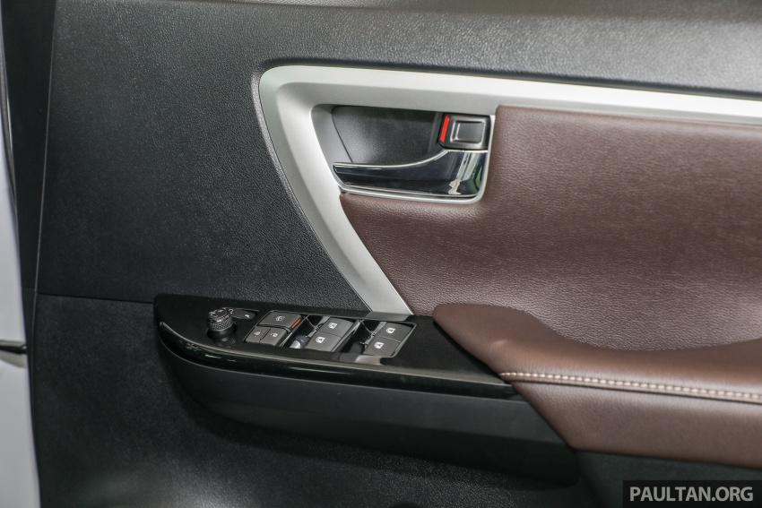 GALERI: Toyota Fortuner 2.4 VRZ A/T 4×2 lengkap dengan aksesori tambahan dan pakej TRD Sportivo Image #723197