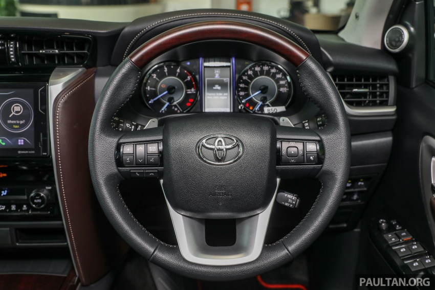 GALLERY: Toyota Fortuner 2.4 VRZ 4×2 with TRD kit Image #723359