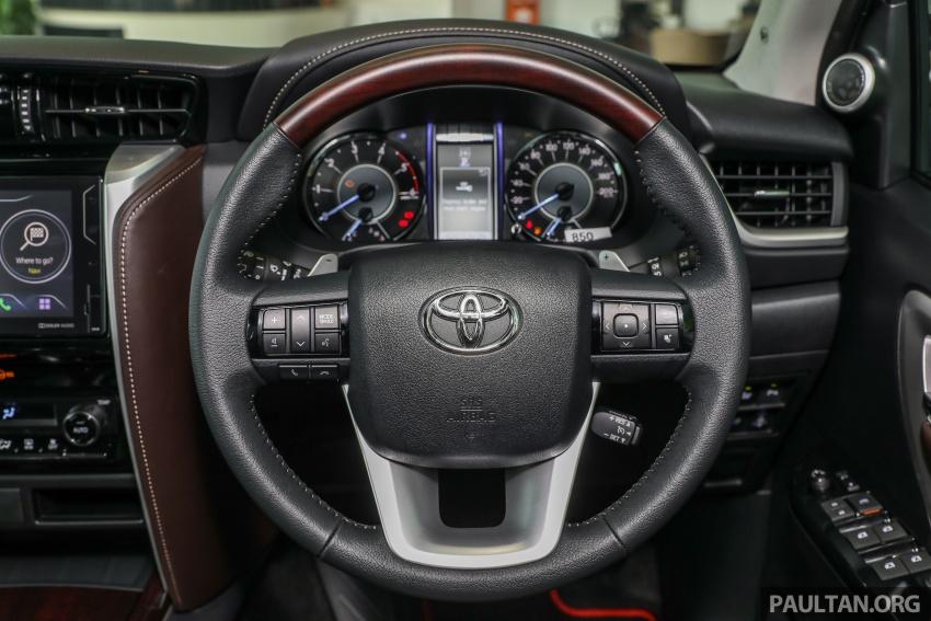 GALERI: Toyota Fortuner 2.4 VRZ A/T 4×2 lengkap dengan aksesori tambahan dan pakej TRD Sportivo Image #723138