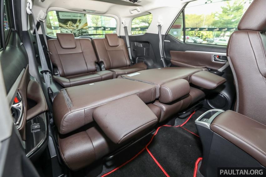 GALERI: Toyota Fortuner 2.4 VRZ A/T 4×2 lengkap dengan aksesori tambahan dan pakej TRD Sportivo Image #723203