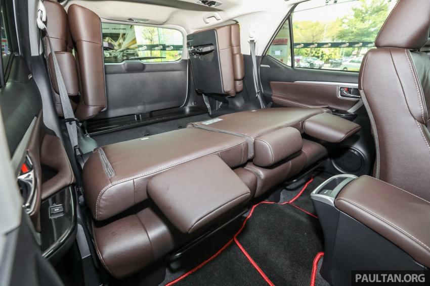 GALERI: Toyota Fortuner 2.4 VRZ A/T 4×2 lengkap dengan aksesori tambahan dan pakej TRD Sportivo Image #723207