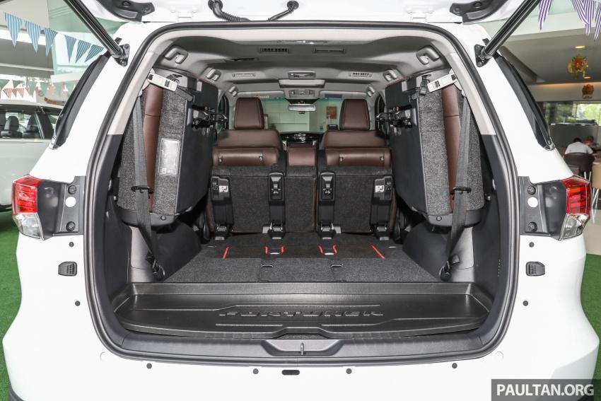 GALERI: Toyota Fortuner 2.4 VRZ A/T 4×2 lengkap dengan aksesori tambahan dan pakej TRD Sportivo Image #723225