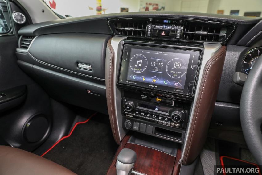 GALERI: Toyota Fortuner 2.4 VRZ A/T 4×2 lengkap dengan aksesori tambahan dan pakej TRD Sportivo Image #723144