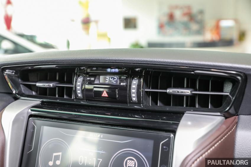 GALERI: Toyota Fortuner 2.4 VRZ A/T 4×2 lengkap dengan aksesori tambahan dan pakej TRD Sportivo Image #723147