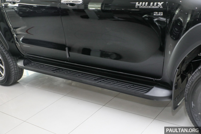 GALLERY: Toyota Hilux 2.8G with Tough Package, PVM Image #723533