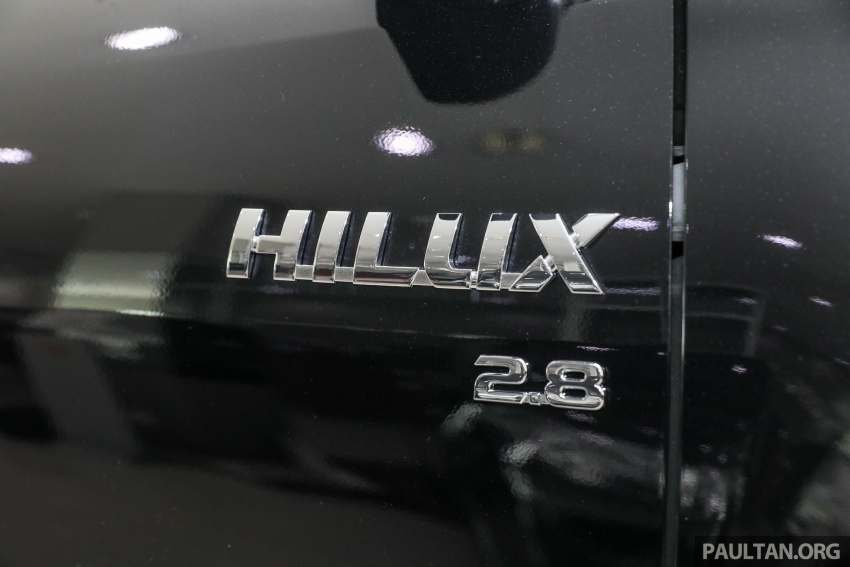 GALLERY: Toyota Hilux 2.8G with Tough Package, PVM Image #723534
