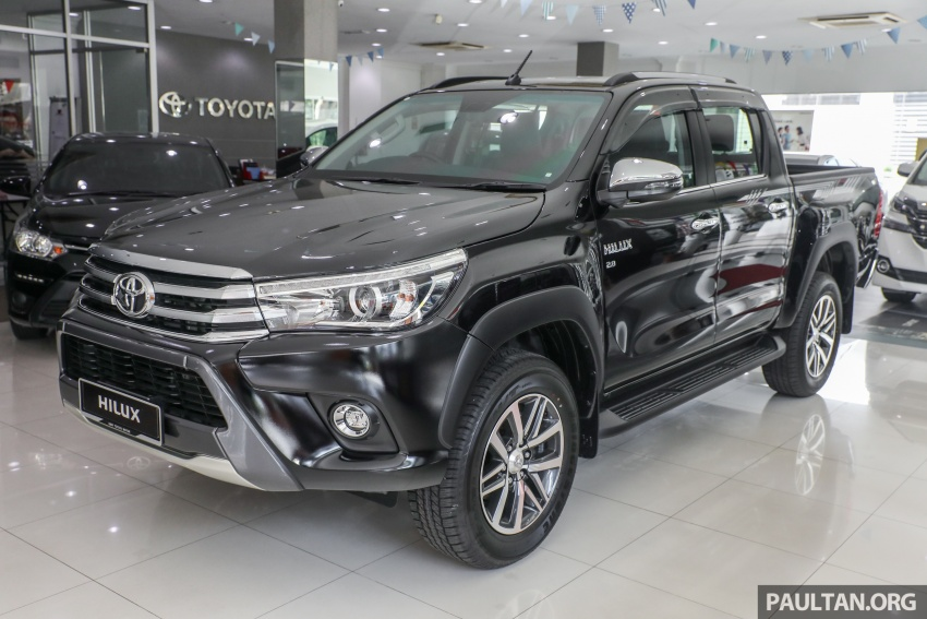 GALLERY: Toyota Hilux 2.8G with Tough Package, PVM Image #723517
