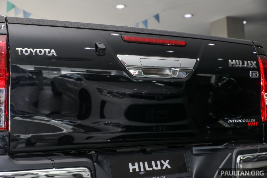 GALLERY: Toyota Hilux 2.8G with Tough Package, PVM Image #723541