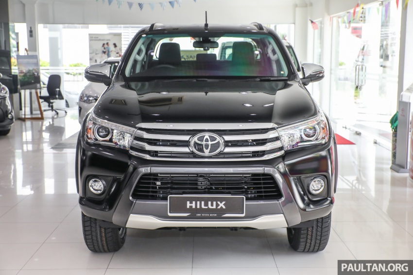 GALLERY: Toyota Hilux 2.8G with Tough Package, PVM Image #723520
