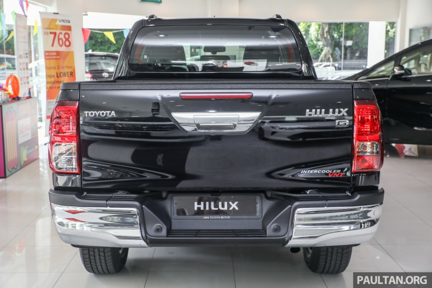 GALLERY: Toyota Hilux 2.8G with Tough Package, PVM Image #723521