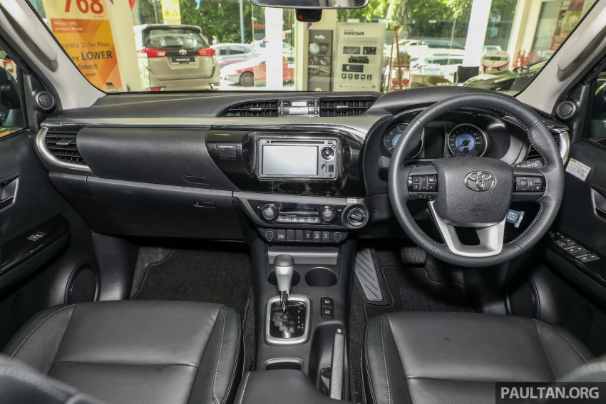 GALLERY: Toyota Hilux 2.8G with Tough Package, PVM Image #723550