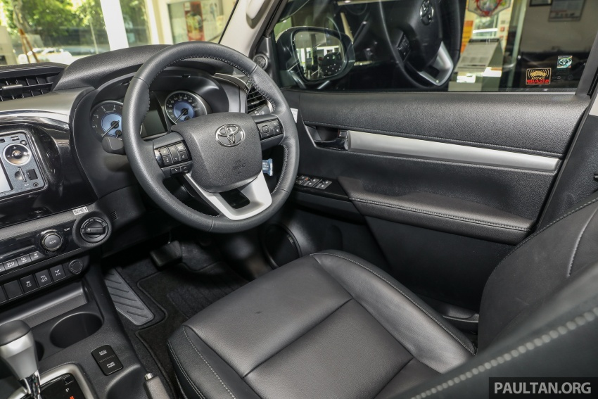 GALLERY: Toyota Hilux 2.8G with Tough Package, PVM Image #723567