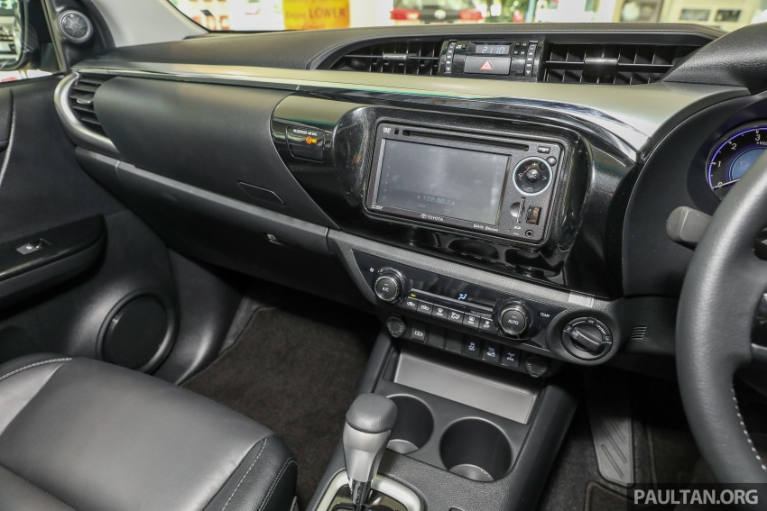 GALLERY: Toyota Hilux 2.8G with Tough Package, PVM Image #723554