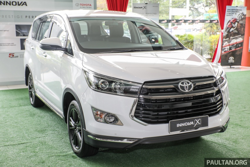 GALLERY: Toyota Innova 2.0X – priced at RM132,800 Image #722991