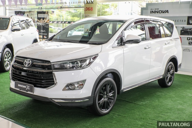 Gallery Toyota Innova 2 0x Priced At Rm132 800