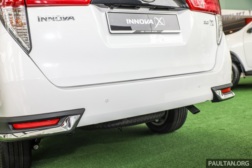 GALLERY: Toyota Innova 2.0X – priced at RM132,800 Image #723022