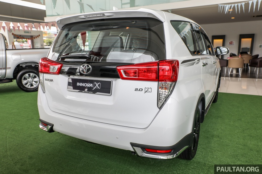 GALLERY: Toyota Innova 2.0X – priced at RM132,800 Image #722994