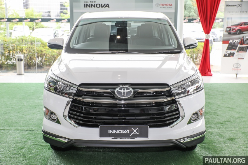 GALLERY: Toyota Innova 2.0X – priced at RM132,800 Image #722999