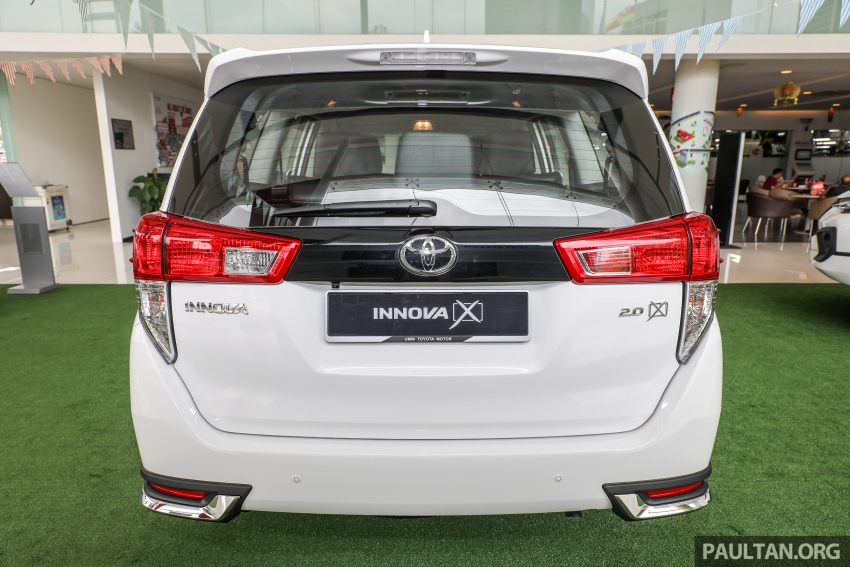 GALLERY: Toyota Innova 2.0X – priced at RM132,800 Image #723001