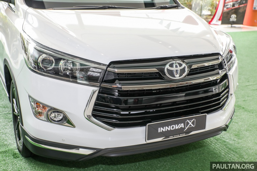 GALLERY: Toyota Innova 2.0X – priced at RM132,800 Image #723002