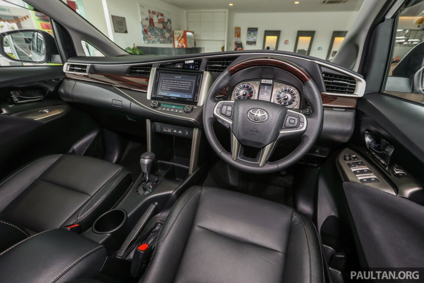 GALLERY: Toyota Innova 2.0X – priced at RM132,800 Image #723043