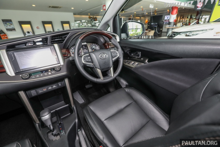 GALLERY: Toyota Innova 2.0X – priced at RM132,800 Image #723044