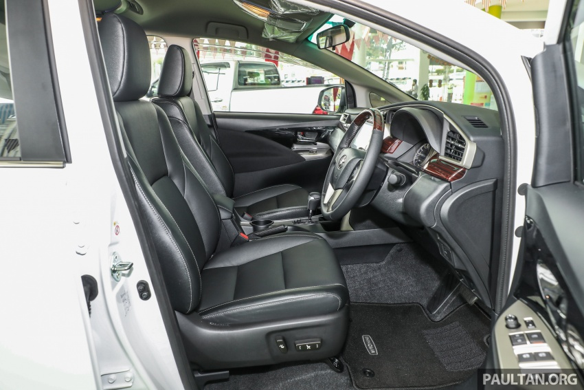 GALLERY: Toyota Innova 2.0X – priced at RM132,800 Image #723046
