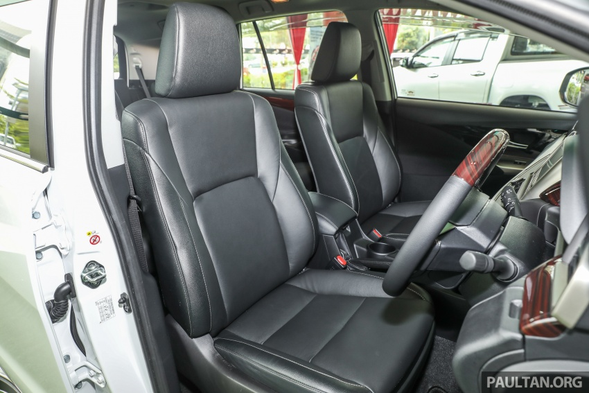 GALLERY: Toyota Innova 2.0X – priced at RM132,800 Image #723047