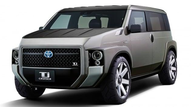 toyota tj cruiser concept new sub utility van. Black Bedroom Furniture Sets. Home Design Ideas